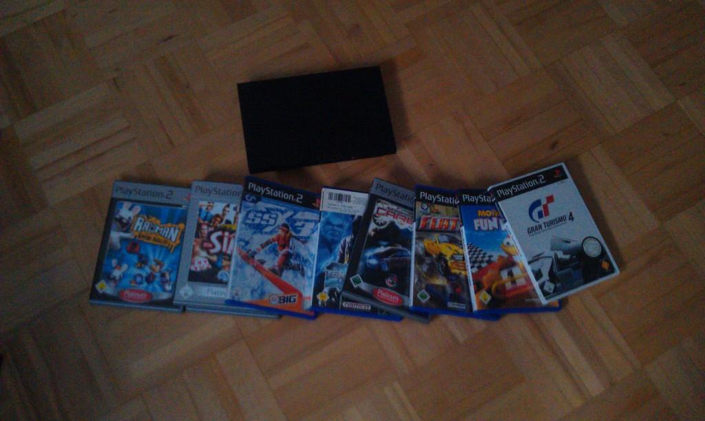 Playstation 2 für das Albert Schweizer Kinderdorf