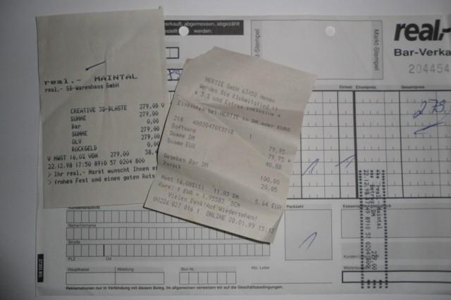 Rechnungen Voodoo² und Computerspiel