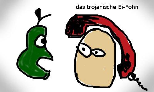 Das trojanische Ei-Fohn